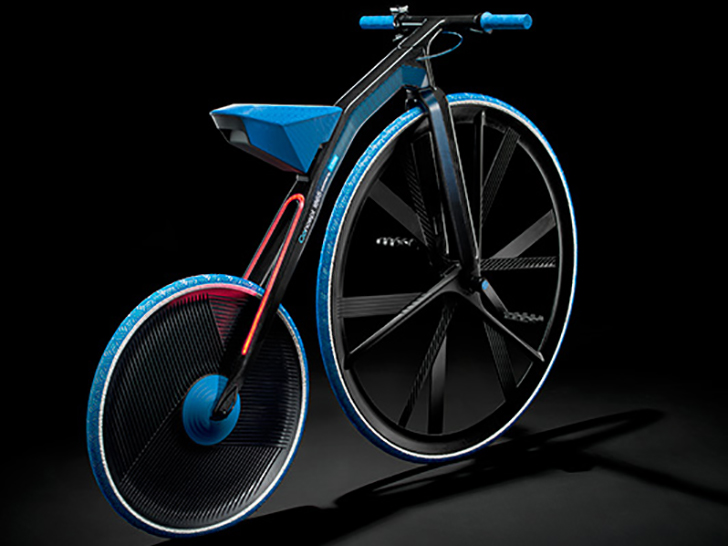 Electric Velocipede - backside